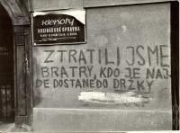 """1968, srpen, Praha, hodnocení """"bratrské pomoci"""""""