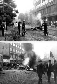 1968, srpen, po boji u Rozhlasu