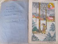 illustrated poems by Mrs. Friederike Rudolfph, a teacher of Mrs. Cäsarová from Brno, who died in the Svatobořice internment camp