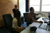 A Worshop at the Czech Radio Station