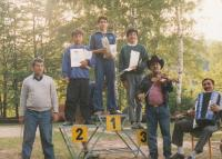 Roma scout club, 1975 (L. Goral to the left)