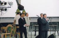 At a festival in Karviná, early 1990s (L. Goral second from the right)