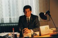 In the Government building, early 1990s