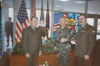 With gen. Miller in Kansas City, preparation of a joint US-Russian Military Exercise, 1994