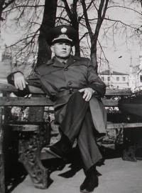 Moscow, shortly after his arrival from Czechoslovakia