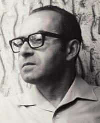 Karel Vaš in 1974