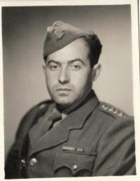 cap. Karel Vaš in 1946 (1947)