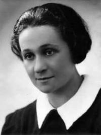 Jiřina Picková, cousine of Renata Knapp and Hana´s teacher at the Jewish school