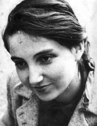 Hana Bořkovcová in 1948