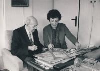 Iva Drápalová with Josef Vojvoda