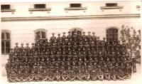 Cadet school graduates, Košice 1930