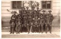 Teachers of the cadet school in Košice, 1930
