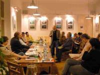 """Ivan Makásek discussing at the project """"The significance of an oath"""""""
