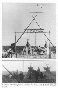 Camp of Wind plains