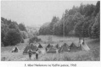 Camp on the Otter creek, 1968