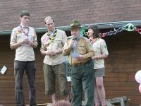 20 years of the Scout center Šíp (Arrow) - 20 years on the Arrow path - Grizzly at the microphone