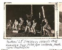The district forest school of the Jiráskova region - August 1946