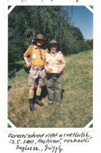 13. 5. 2000 - district competition of the Cub Scouts and fireflies