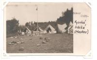 camp 1939 - Vysoká Srbská (Machov)
