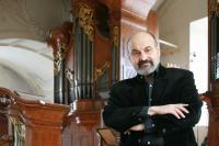 Tomáš Halík at the Saint Salvador church in Prague
