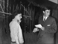 Tomáš Halík during his A-level at a Prague high school in 1966