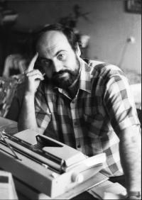 Tomáš Halík working in 1978