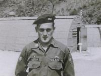Milan Paumer as a member of US Army