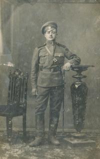Hajný Vladimír - uncle Václav Stránský
