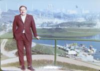 Ing. Čestmír Vaško, Mr. Hajný´s friend, in exile in Germany