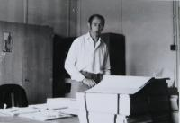 Vladimír Hajný at work