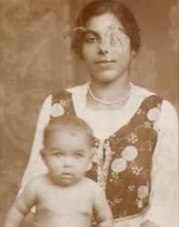 Emilie Machálková with her mother