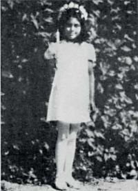 Orphaned cousin Růženka