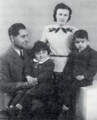 Uncle Tomáš with his family