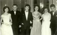 At the ball (uncle on the very right)