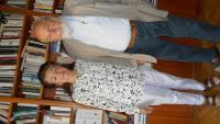 Fr. Janouch se svojí ženou Adou, roz. Kolmanovou