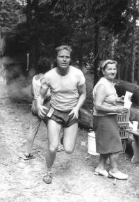 František Srovnal, Mladkov-Orlické hory,10.7.  1971