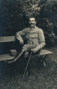 2 - Uncle Přibil /husband of the sister of Blanka Císařovská's father