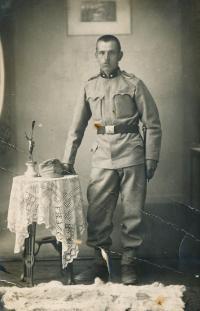 3 - Blanka Císařovská's father Josef Charvát pre-1914