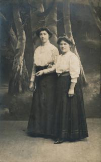 5 - the witness's mother - Anastázie Charvátová