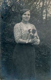 16 - Anastázie Charvátová - the witness's mother