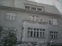 The Partyš family's villa, 1945