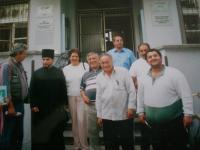 With Giňa family, Rokycany