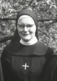 Sister Pavla Křivánková in 1971
