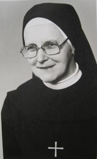 Sister Pavla Křivánková in 1980