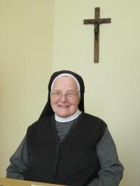 Sister Pavla Křivánková in Kroměříž, April 2011