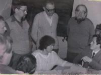 Jako účastník postgraduálního studia, 1980