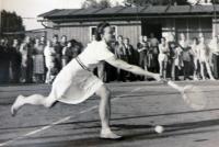 Vlasta Holeckova Playing for CKD Sokolovo