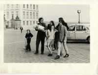 1984 - křtiny dcery Markéty v arcibiskupském paláci na Hradčanském náměstí