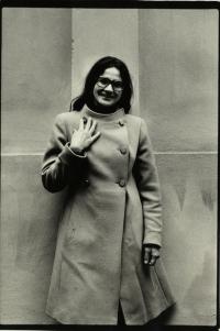 Kamila Bendová v roce 1979
