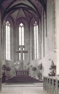 Church of st. Václav Na Zderaze